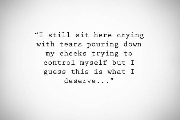"Life After Regret ""I cry all the time,I find myself depressed…"""