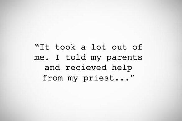 I Begged Jesus's forgiveness